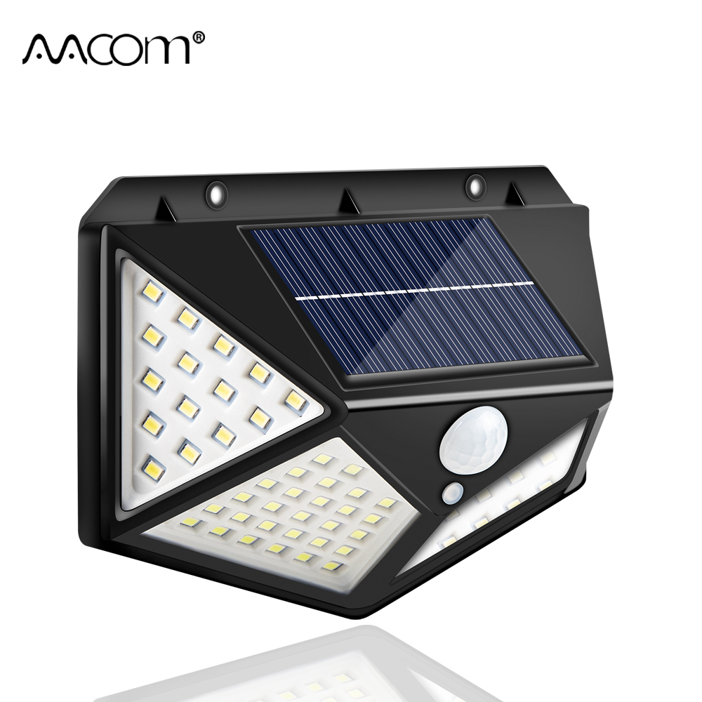 Solar LED Street Light Outdoor Wall Lamp 100 172 262 LEDs Sunlight Powered Outdoor Street Light Solar Porch Lamp IP65 Waterproof