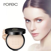 ROREC Matte Base Loose Minernal Powder,Face Setting Powder,Translucent Foundation Makeup Warm Silk Face Concealer Finish Powder