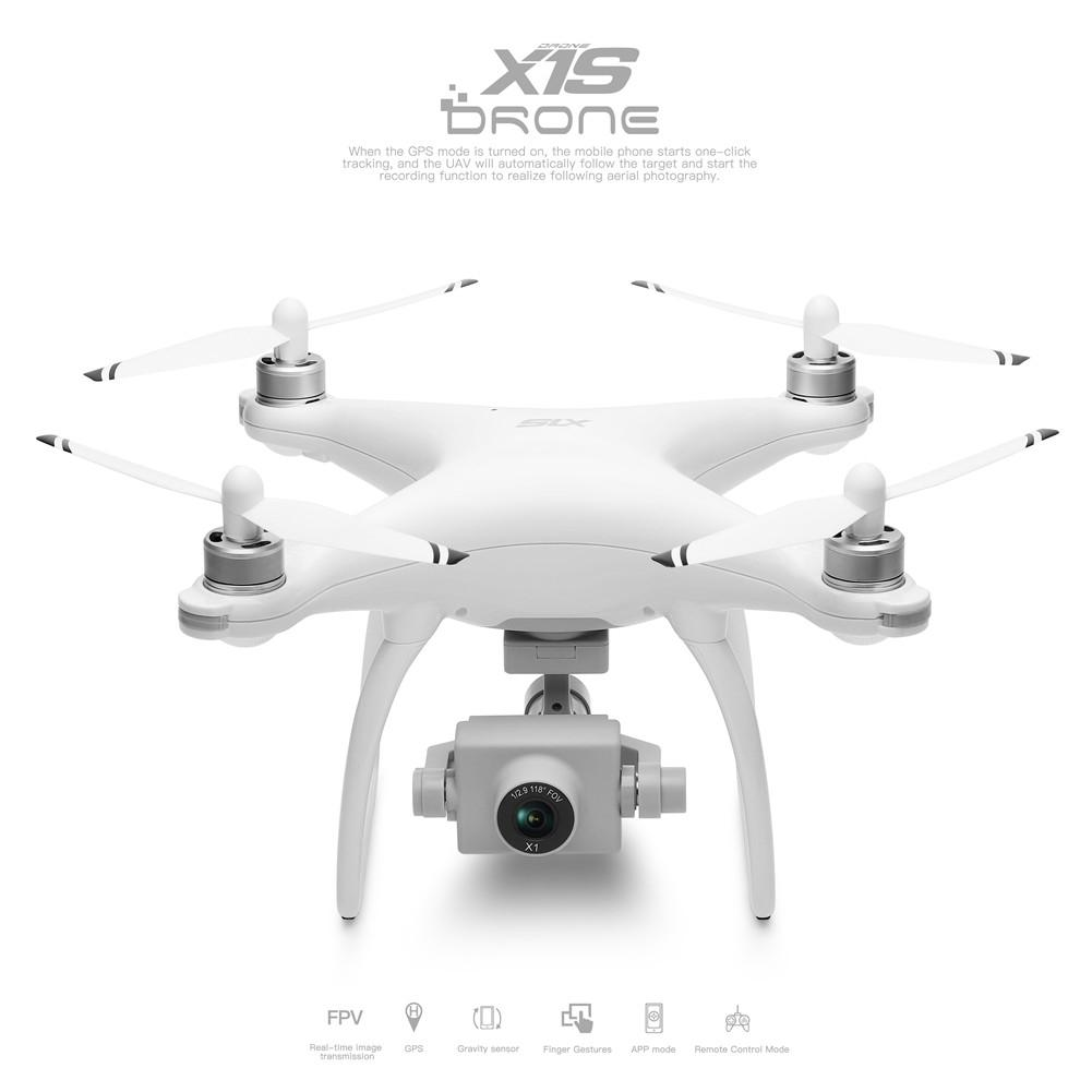 Wltoys XK X1S 5G WIFI FPV GPS With 4K HD Camera Two-axis Coreless Gimbal 22 Mins Flight Time Brushless RC Drone Quadcopter