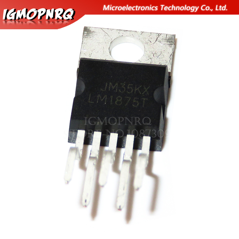 10pcs <font><b>LM1875T</b></font> LM1875 <font><b>TO220</b></font> 20W Audio Amplifier new original image