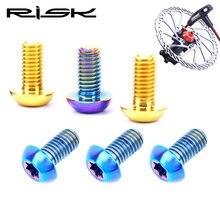 RISK Bike Disc Brake Screw Rotor Titanium Bicycle MTB Ultralight Cycling Accessories D4171QX