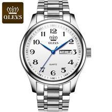 Шоутайм часы для мужчин люксовый бренд кварцевые наручные часы водонепроницаемый мужские часы золото серебро водонепроницаемый сталь часы с календарь