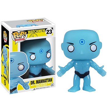Funko Pop Doctor Manhattan Superman Watchmen 10cm Vinyl Action Figures Limited Edition Collection Model Toys for Party Gifts 1