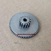 Стальная шестерня 0,8 м 15 т + 0,6 м 59 т, дуплексная шестерня, наружный диаметр 13,6 мм, металлическая Шестерня 36,6 мм ~