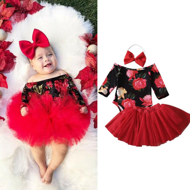 Newborm Baby Girls Tutu Dress for 0-24 Months