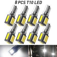 8x T10 W5W 168, 194 LED Canbus bombillas de coche luces de estacionamiento para Toyota RAV4 Yaris Camry 2007 2008 2009 Corolla Auris Avensis Prius