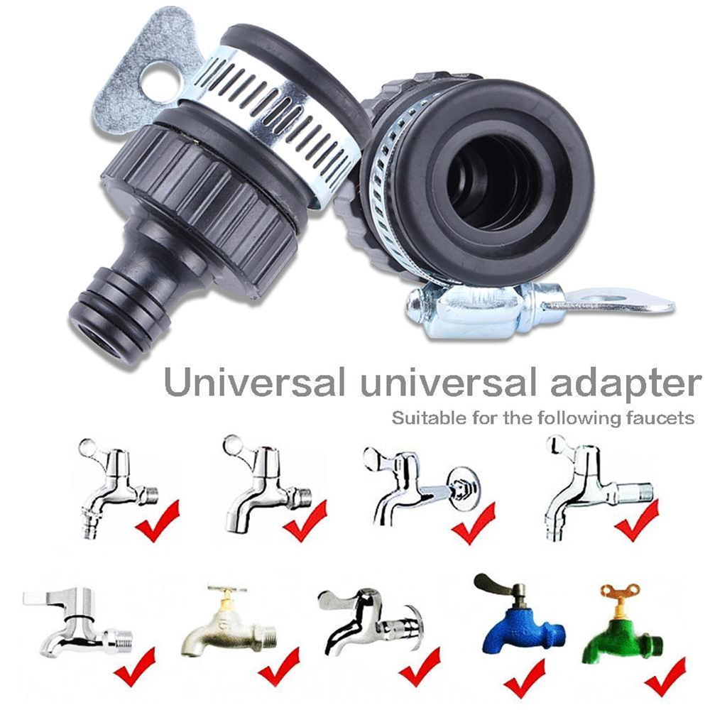 Universal Faucet Adapter Water Tap Connector Mixer For Garden Hose Pipe Tap Kitchen Bathroom Faucet Nozzle Accessories Garden