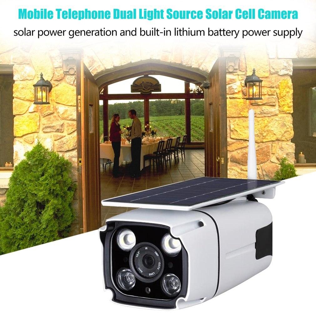 Wifi Беспроводная IP67 наружная камера безопасности HD1080P солнечная батарея низкое энергопотребление камера видеонаблюдения