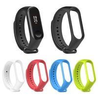 Xiaomi Mi Band 3 4 Sport Strap Uhr Band Silikon Handgelenk Gurt Für xiaomi mi band 3 4 Smart Armband ersatz Miband 4 Strap