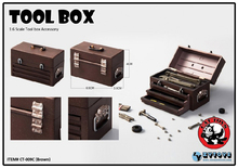1/6 Scale 4 colors Tool Box Accessory CT-009 A/B/C/D Figure Model With for 12 inches Action Figures