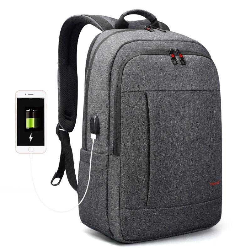 Tigernu High Quality Waterproof 17 inch Laptop Backpack Men Women Travel Schoolbags Casual Light Mochilas Male