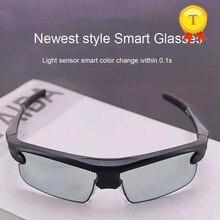 Роскошные без батареи, без кнопки, свободные очки для рук, для вождения, мужские поляризованные солнцезащитные очки, умные, меняющие цвет, женские очки