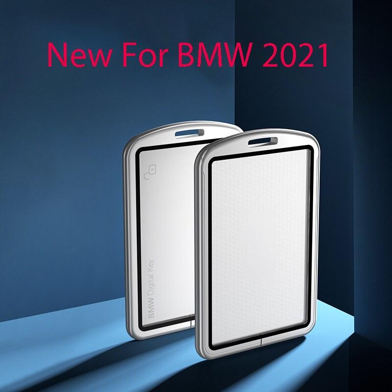New Car Remote Key Case CoveFor BMW 2021New 5 series 525Li card key box 535le7 series 8 series new x7x5nfc key box 530Li