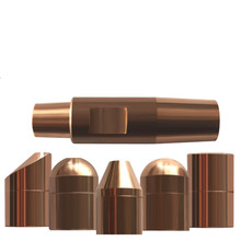 Electrode Cap 13*20mm Chromium Zirconium Copper Electrode Cap Hanging Electrode Cap Electrode Head of Spot Welding Machine