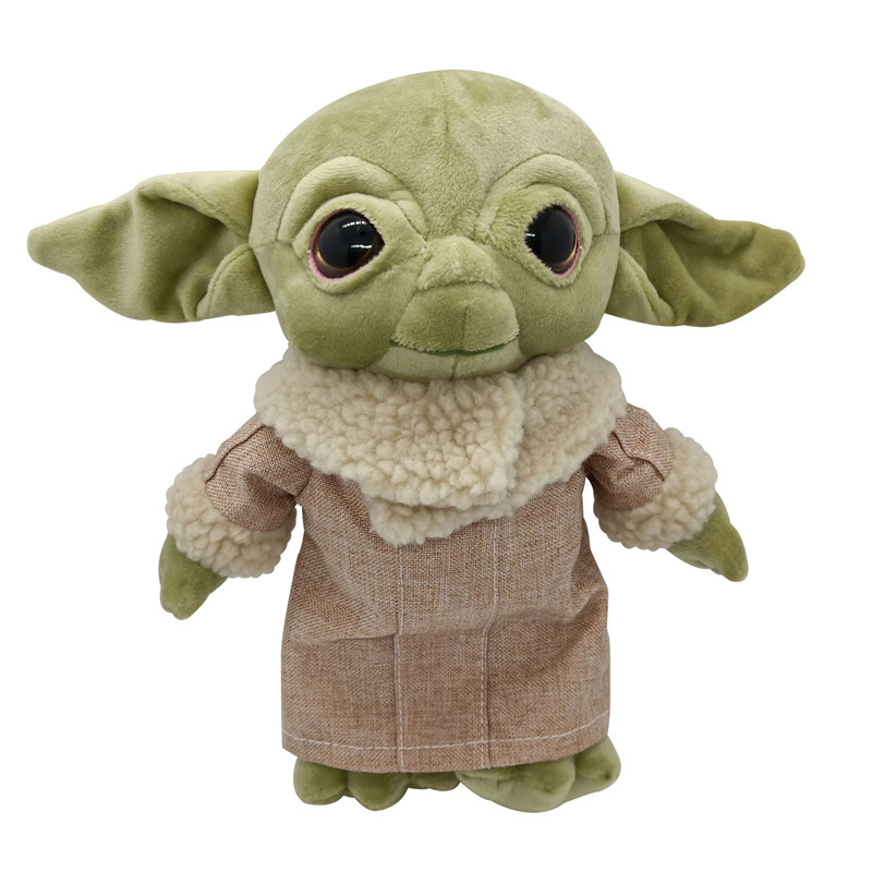 New 20-40cm 2 Style Star Wars Baby Yoda Plush Toy Master Yoda Plush Cartoon Fashion Doll Birthday Gifts For Kid Children