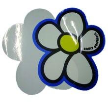 strong sticker die cut vinyl waterproof sticker label printing custom