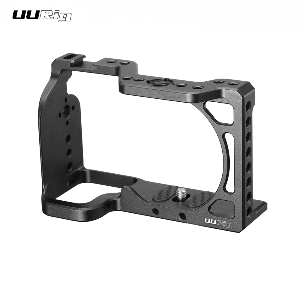 Photography UURig Aluminum Alloy Camera Cage with Cold Shoe Compatible with Sony A6600