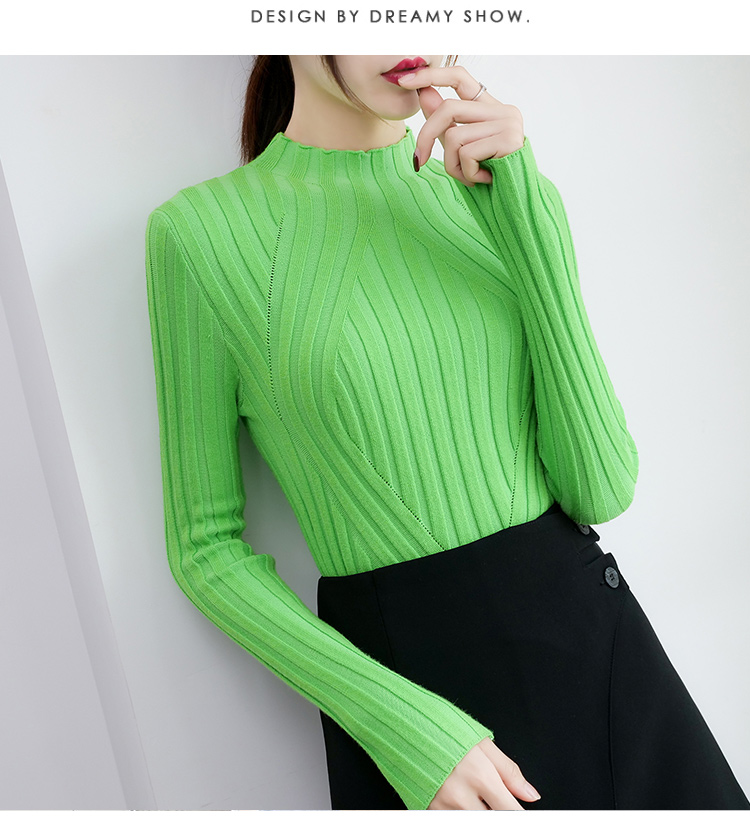 Sweaters fashion 19 women sweaters ladies winter clothes women knit solid black long sleeve tops sueter mujer Pullovers 0364 6