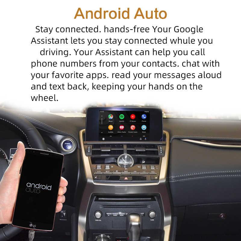 Draadloze Carplay, voor Lexus Nx Es Ons Is Ct Rx Gs Ls Lx Lc Rc 2014-2019 Multimedia Interface Carplay & android Auto Retrofit Kit