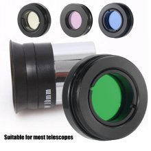 """0,96"""" 2,45 мм Набор цветных фильтров окуляра и лунных фильтров аксессуары для комплект телескопа с алюминиевым чехол"""