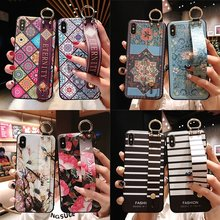 Very beautiful 3D Emboss Phone Case For redmi note 7 4X 5A 6 case for Xiaomi Mi 5X 6X 8 9 K20 Pro A3 lite cover funda coque(China)
