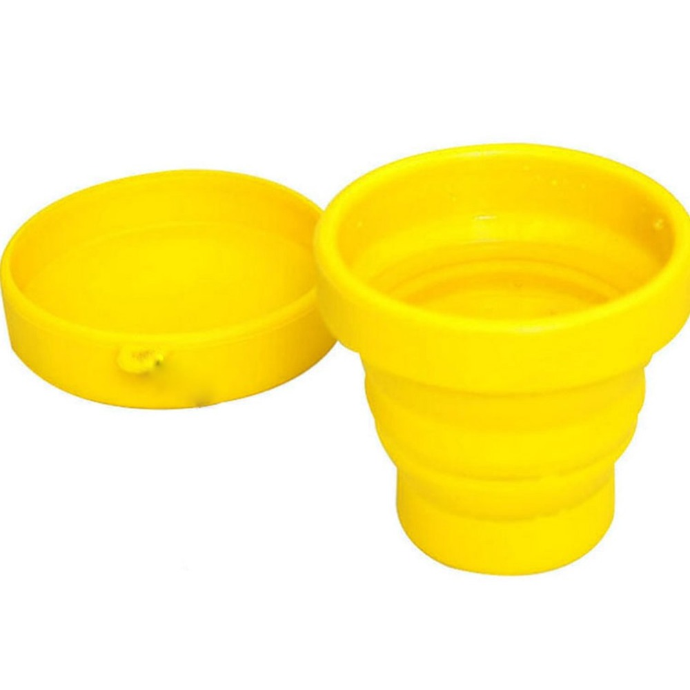 Folding-Cup Retractable Travel Collapsible Outdoor Silicone 200-300ml Camping with Water-Drinkware title=