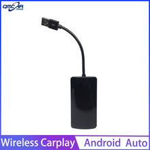 Enlace inteligente inalámbrico CarPlay Dongle para Android coche Mini USB Carplay Stick con Android enchufe Auto y Airplay(China)