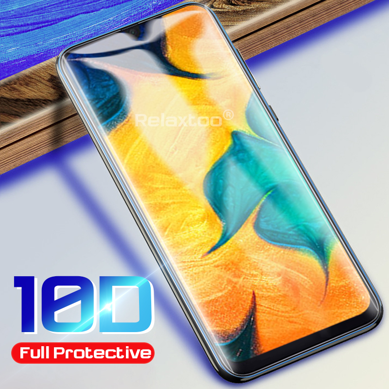 10d tempered <font><b>glass</b></font> protector for <font><b>samsung</b></font> <font><b>galaxy</b></font> a10 a20 a30 a40 a50 a70 samsun sansung m30 m20 m10 2019 phone screen film cover image