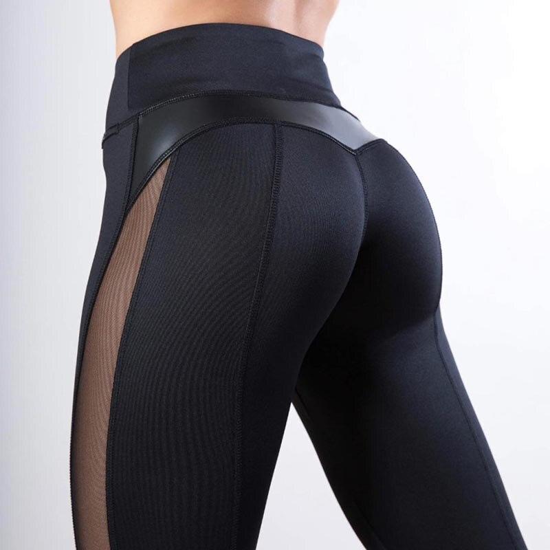 2020 Femme High Waist Mujer Women Leggings Sexy Pants Push Up Fitness Gym Leggins Running Mesh Leggins Seamless Workout Pants