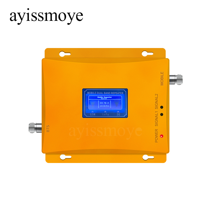 New Mobile Signal Repeater GSM900 4G LTE1800 Repeater Cellular Signal Enhancer 4g 2g Dual Frequency Amplifier Repeater Celular