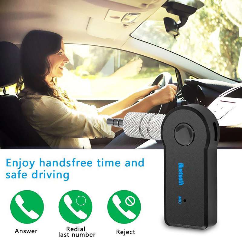 2 in 1 Wireless Bluetooth 5.0 Receiver Transmitter Adapter 3.5mm Jack For Car Music Audio Aux A2dp Headphone Reciever Handsfree 5