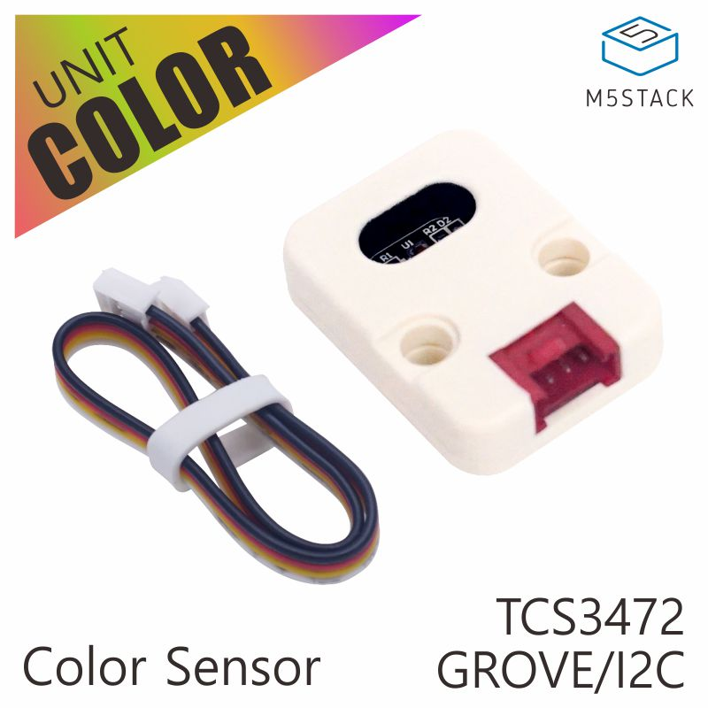 M5Stack Official Color Unit TCS34725 Color Sensor RGB Color Sensor Development Board Module GROVE I2C Compatible