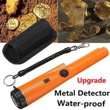 Yeni yükseltme Pointer Metal dedektörü Pro Pinpoint GP pointerII saptayarak altın kazıcı bahçe tespit su geçirmez