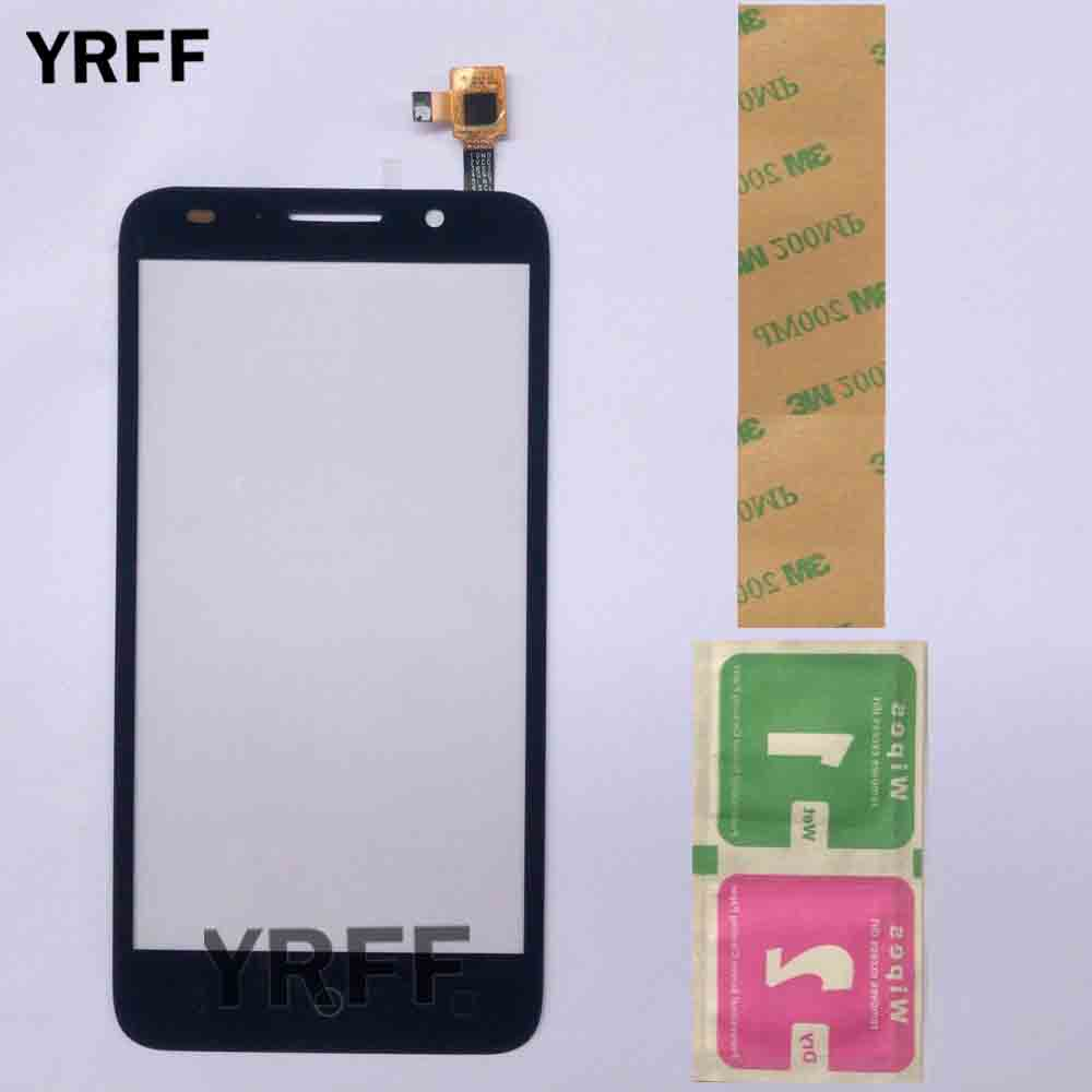 Touch Screen For Alcatel One Touch Pop 3 OT5015 5015 5015A 5015D 5015E 5015X Touch Glass Sensor Digitizer Panel 3M Glue Wipes