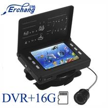 Инфракрасная камера для подводной рыбалки Erchang F7, камера для подледной рыбалки с видеорегистратором, 3,5 дюйма, 15 м
