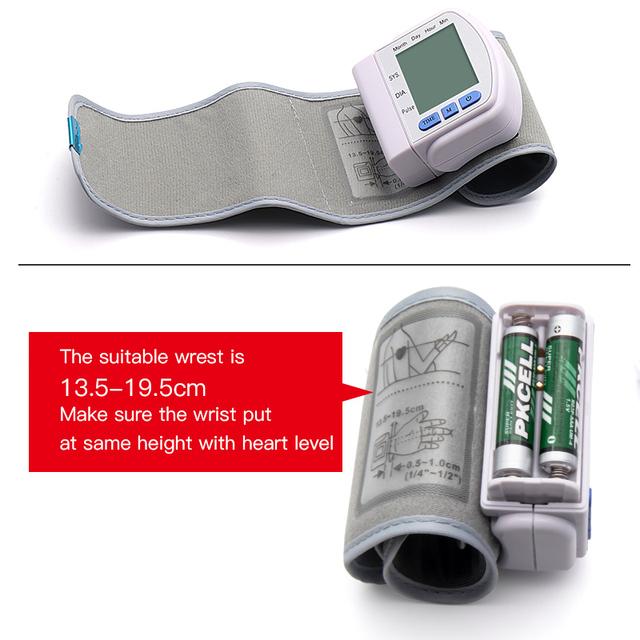 Håndleds blodtryksmåler