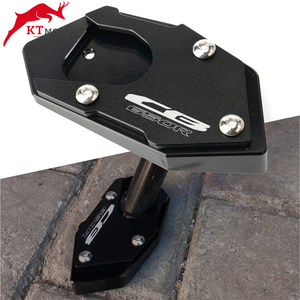Image 1 - For Honda CB 650R CBR 650R CB650R CBR650R 2018 2020 Motorcycle CNC Kickstand Foot Side Stand Extension Pad Support Plate