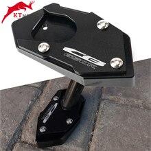 Placa de soporte de almohadilla de extensión de caballete CNC para motocicleta Honda CB 650R CBR 650R CB650R 2003 2012