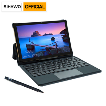 SIHAWO LiPad V LPDDR4X 6GB RAM 128GB ROM Dual SIM 4G LTE 10.1 inch Android 8.1 Tablet PC Helio MT6763 Octa Cores GPS 2in1 Tablet 10 1 inch official original 4g lte phone call google android 7 0 mt6797 10 core ips tablet wifi 6gb 128gb metal tablet pc