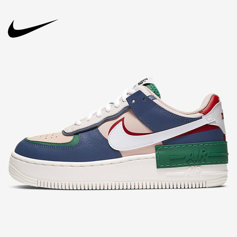 US $110.0 |Nike Air Force 1 Shadow damskie buty na deskorolkę Comforbale Outdoor Sports Sneakers CI0919 400 oryginalne 2019 New Arrival Hot na