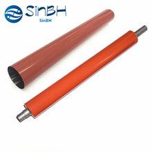 1 conjunto x qualidade original película fuser cinto manga + rolo de menor pressão para konica minolta bizhub c554 c654 c754 c554e c654e c754e