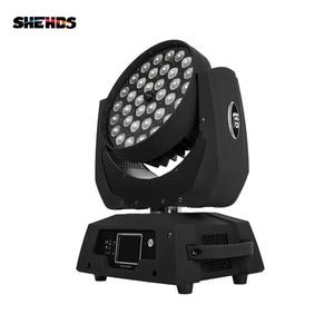 Image 3 - Projecteur de lavage avec tête mobile et couleurs DMX, Zoom LED 36x18W rgbw + UV, pour DJ, discothèque, LED
