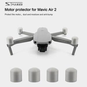 Image 1 - STMAKER غطاء واقي للمحرك Mavic Air 2 ، غطاء مقاوم للغبار ، ملحق للطائرة بدون طيار