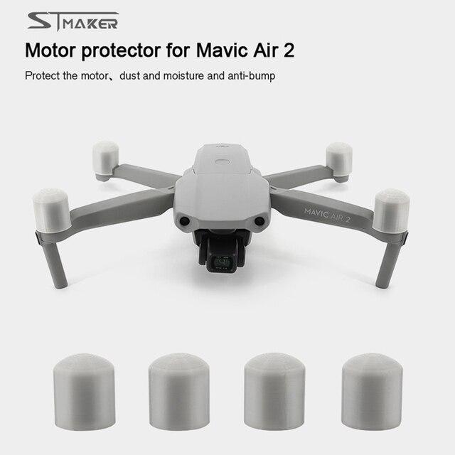 STMAKER غطاء واقي للمحرك Mavic Air 2 ، غطاء مقاوم للغبار ، ملحق للطائرة بدون طيار