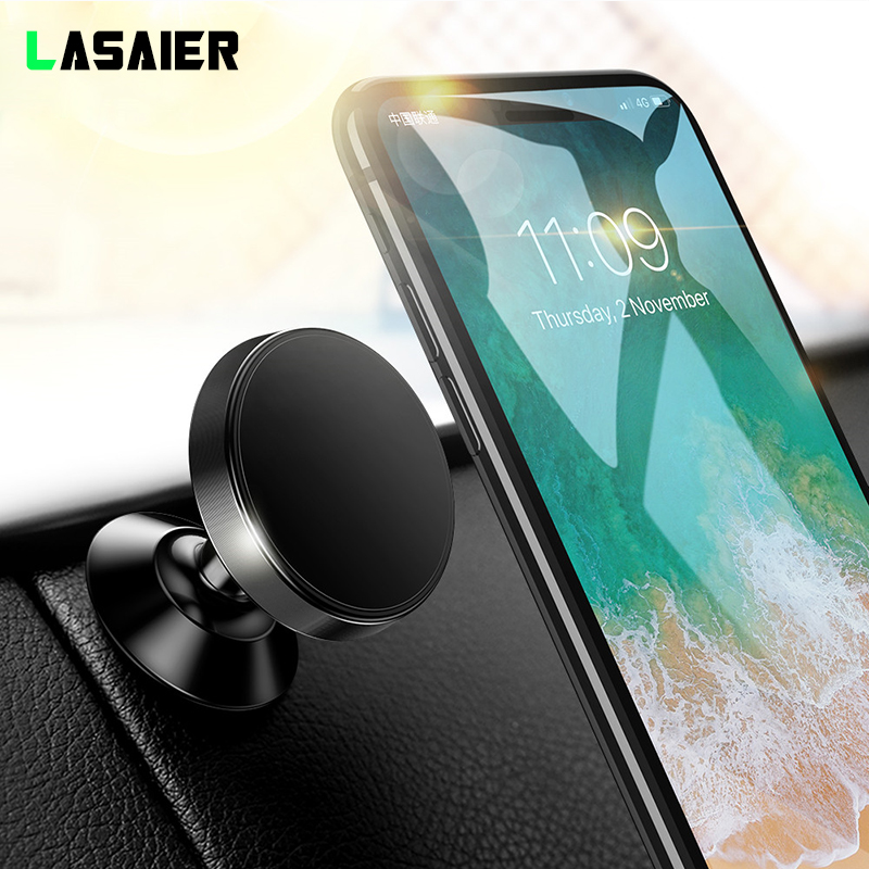 Car Phone Holder Magnetic Dashboard Phone Holder Stand Air Vent Grip Bracket For IPhone X Samsung S10 For Huawei Gravity Holder