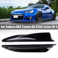 1 Pair Side Fender Fin Vents Trim Car Exterior Trim Accessories for Subaru BRZ Toyota GT86 Scion FR S 2012 2016