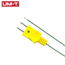 UNI-T UT-T01 Contact Type K Thermocouple Probe Sensor Multimeter Temperature Probe 40~260 Celsius Degree 1pcs 80mm thermocouple sensor type k temperature probe 8cm thermometer 50 500 celsius range