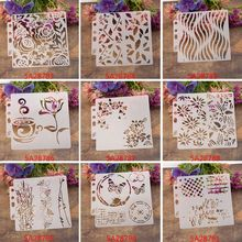Stencils Template Painting Scrapbooking Embossing Stamping Album Crafts M89A