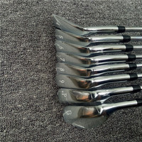 8pcs JPX919 Golf Irons Set Golf Forged Irons Golf Clubs 4-9PG Regular and Stiff Flex Steel Shaft With Head Cover