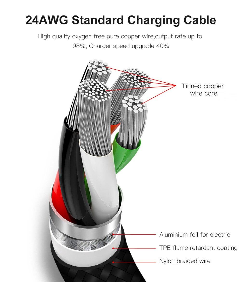Καλώδιο VOXLINK 8 ακροδεκτών σε USB Καλώδιο - Ανταλλακτικά και αξεσουάρ κινητών τηλεφώνων - Φωτογραφία 4